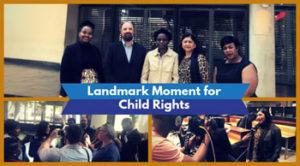 Landmark victory for children's rights